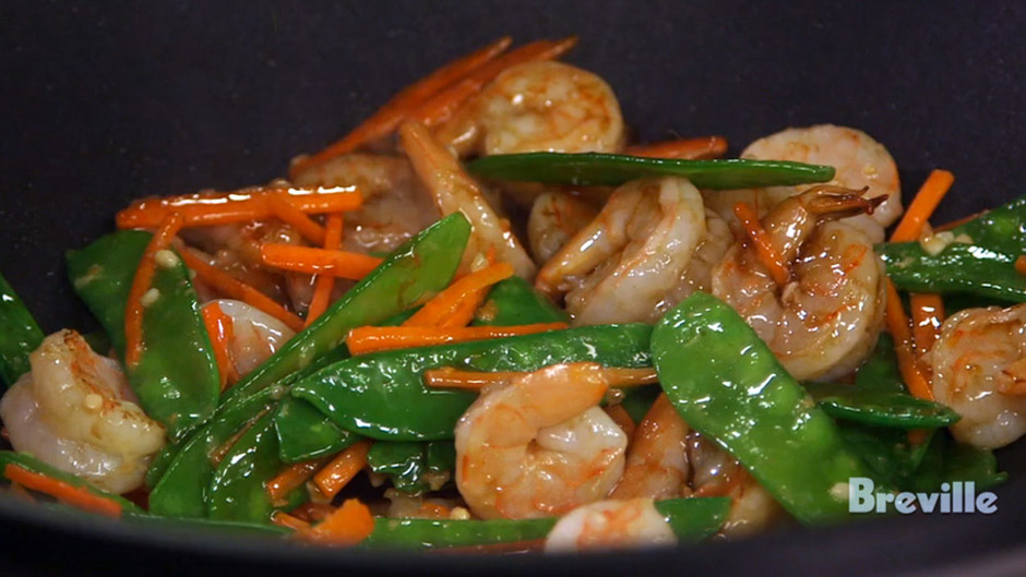 Stir-Fry Shrimp with Snow Peas and Oyster Sauce | Food Thinkers by ...