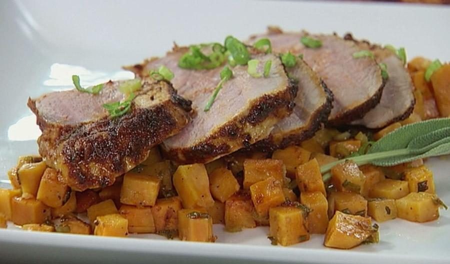 Spice-Rubbed Roast Pork Loin Recipes — Dishmaps