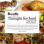 Thought for food 2012 Recipe eBook