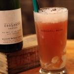Cerise Beer Float